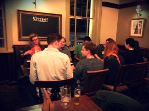 (Photo Credit: Theatre Renegade; Courting Drama Speed-dating)